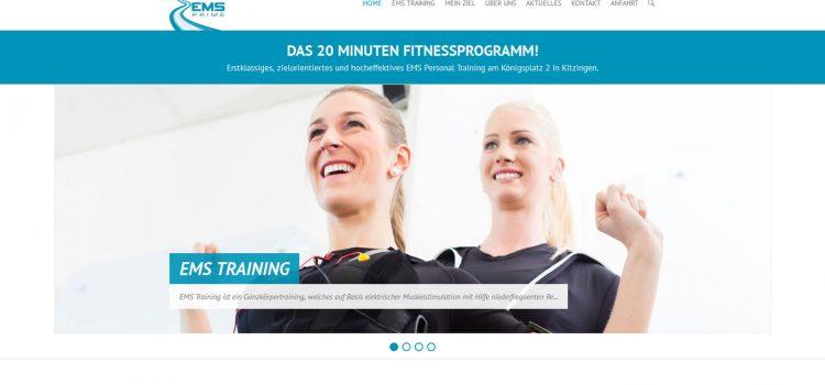 EMS Prime – Das 20 Minuten Fitnessprogramm