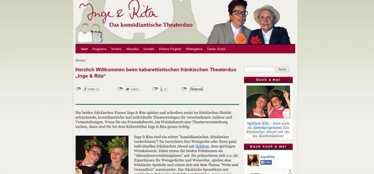 Inge & Rita – Das fränkische Theater und Kabarett-Duo