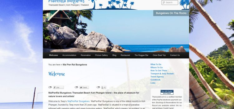 WordPress Plugin Beckspaced Bungalow Buchungsassistent