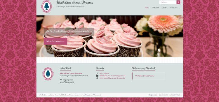 Mathilda's Sweet Dreams – Cakedesign by Michaela Dworschak