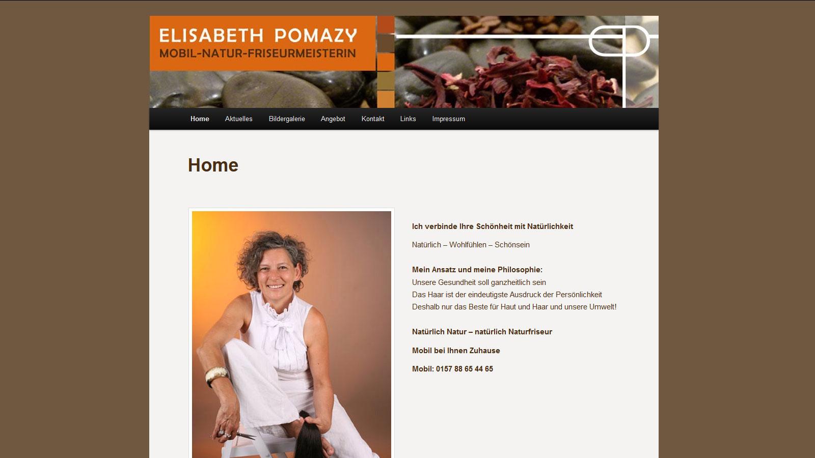 Webagentur Wiesentheid Online Visitenkarte Elisabeth