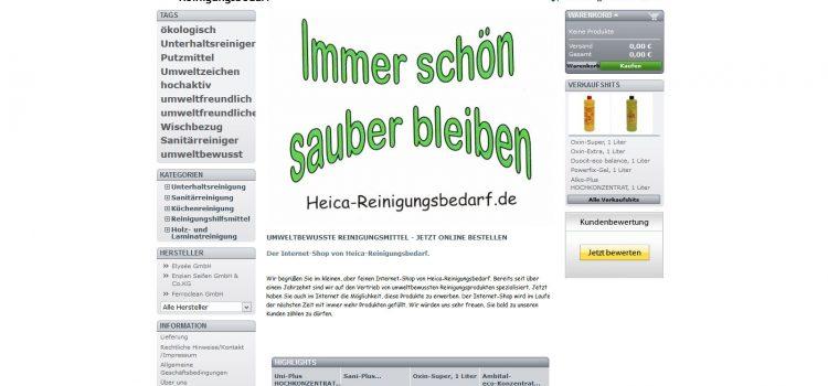 Online-Shop Ökologische Reinigungsmittel Wiesentheid