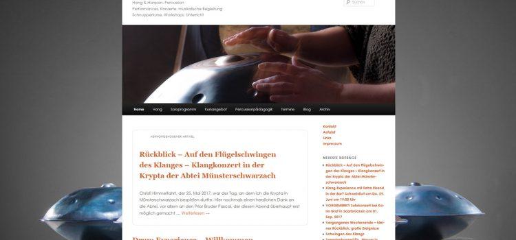 Drum Experience – Musikalische Hang Begleitung